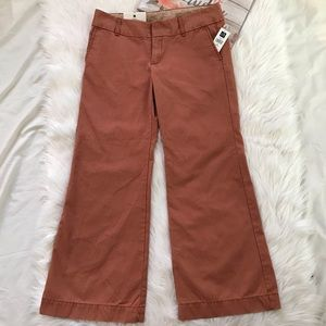 NWT Gap Rusty Modern Fit Flare Pants Size 8A